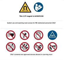Consignes de sécurité travailleurs en IRM